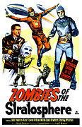 1952 Movies Prints - Zombies Of The Stratosphere, 1952 Print by Everett