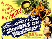 Lugosi Photos - Zombies On Broadway, Bela Lugosi, Wally by Everett