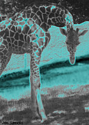 St. Louis Mixed Media - Zoo Life by Jen Sparks
