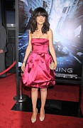 Zooey Deschanel Acrylic Prints - Zooey Deschanel At Arrivals For New Acrylic Print by Everett