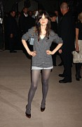Zooey Deschanel Photo Prints - Zooey Deschanel In Attendance For Marc Print by Everett