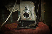 Film Camera Photo Prints - Zoom In Print by Kathy Jennings