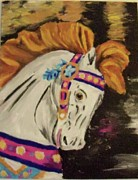 Equine Paintings - Zoraida by Danielle Dutil