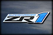 Supercharged Posters - ZR1 Power Poster by Ricky Barnard