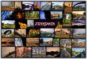 Environment Pyrography Posters - Zrenjanin Collage Poster by Janos Kovac