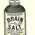 1890s Uk Brain Salt Headaches Humour by The Advertising Archives