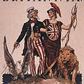 1918 1910s Usa Uncle Sam Ww1  Lions by The Advertising Archives