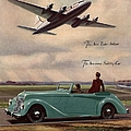 1940s Uk Aviation Hawker Siddeley Cars by The Advertising Archives