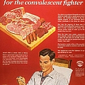 1940s Usa Convalescents Meat Eating by The Advertising Archives