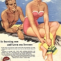 1950s Uk Sun Creams Lotions Tan by The Advertising Archives