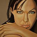 Angelina Jolie Voight by Paul Meijering