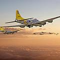 B17 - 486th Bg - Homeward by Pat Speirs