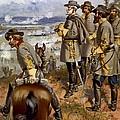 Battle Of Fredericksburg by American School