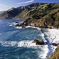 Big Sur At Big Creek by George Oze