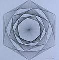 Energy Spiral Print by Jason Padgett