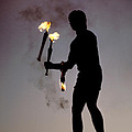 Fire Juggler by Carl Purcell