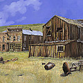 Ghost Town Of Bodie-california by Guido Borelli