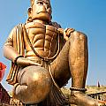 Great Bronze Hanuman - India by Luciano Mortula