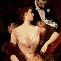 Invitation To The Waltz by Francesco Miralles Galaup