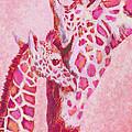 Loving Pink Giraffes