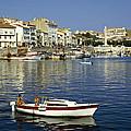 Port Vendres Harbour France 1980s by David Davies