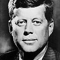Portrait Of John F. Kennedy  by American Photographer