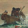 The Herring Net by Winslow Homer