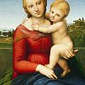 The Small Cowper Madonna by Raphael Raffaello Sanzio of Urbino