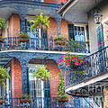 0255 Balconies - New Orleans by Steve Sturgill