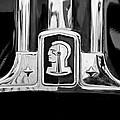 1948 Pontiac Streamliner Woodie Station Wagon Emblem by Jill Reger