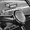 1950 Chevrolet 3100 Pickup Truck Steering Wheel by Jill Reger