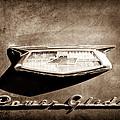 1954 Chevrolet Power Glide Emblem by Jill Reger