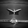 1955 Studebaker President Emblem Print by Jill Reger