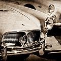 1960 Maserati Grille Emblem by Jill Reger