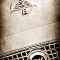 1960 Nash Metropolitan Hood Ornament - Grille Emblem Print by Jill Reger