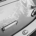 1960 Porsche 356 B 1600 Super Roadster Rear Emblem - Taillight by Jill Reger