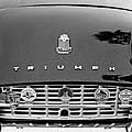 1960 Triumph Tr 3 Grille Emblems by Jill Reger
