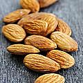 Almonds by Elena Elisseeva
