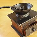 Antique Coffee Grinder by John Van Decker