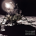 Apollo 17 Moon Landing by Science Source