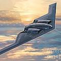 B-2 Spirit by Stu Shepherd