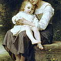 Big Sister by William Bouguereau