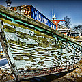 Boat Forever Dry Docked by Paul Ward