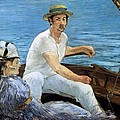 Boating by Edouard Manet