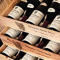 Bottles of Vosne-Romanee Premier Cru Cros Parantoux Print by Anonymous