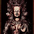 Buddhist Tara Deity by Tim Gainey