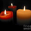 Burning Candles by Elena Elisseeva