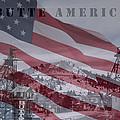 Butte America Print by Kevin Bone