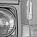 Cadillac Headlight Emblem by Jill Reger
