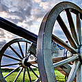 Cannon Over Gettysburg by Andres Leon